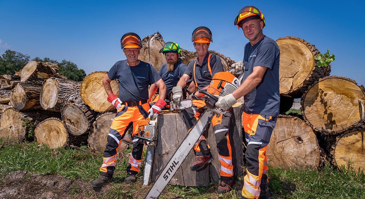 Baumdienst, Forstarbeiten und Rodung in Karlsruhe - Gredler + Söhne